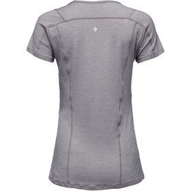 Black Diamond Rhythm T-shirt Damer, nickel